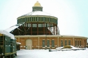 B&O Railroad Museum after roof collapse in snow of Feb 2006